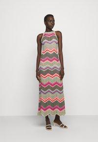 M Missoni - ABITO LUNGO SENZA MANICHE - Jumper dress - multi coloured - 0
