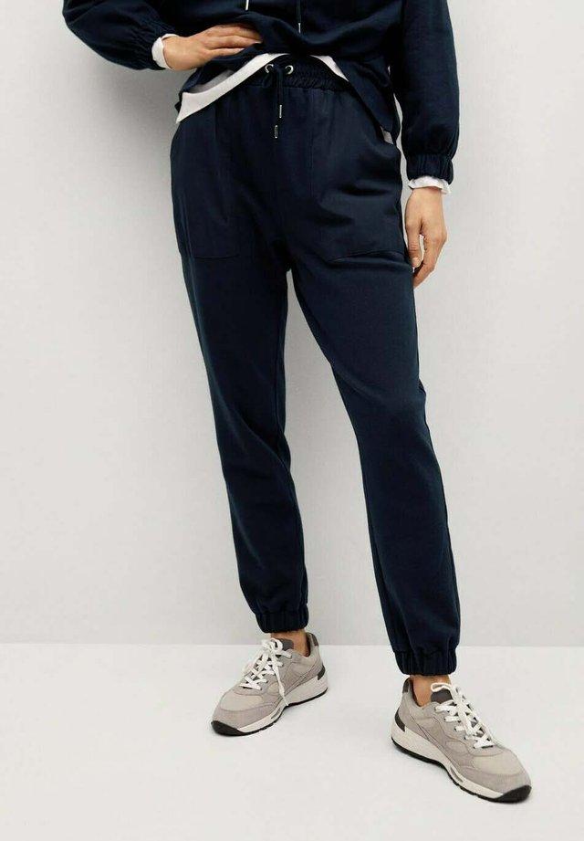 Pantalon de survêtement - dunkles marineblau