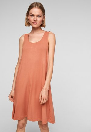 ROBE - Day dress - coral