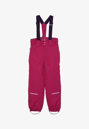 NKFSNOW03 PANT - Spodnie narciarskie - cerise