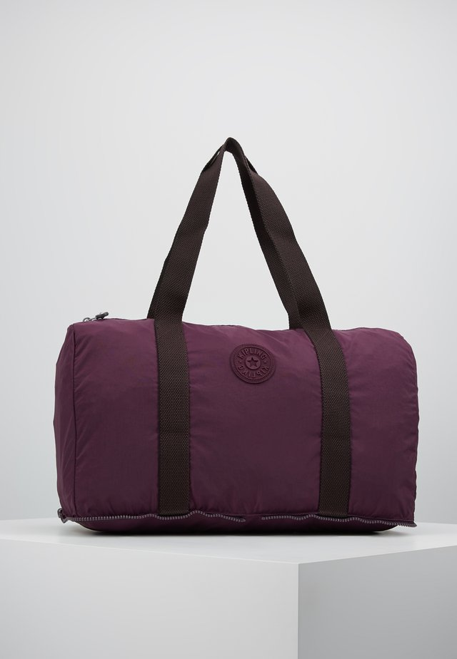 HONEST PACK - Weekend bag - dark plum