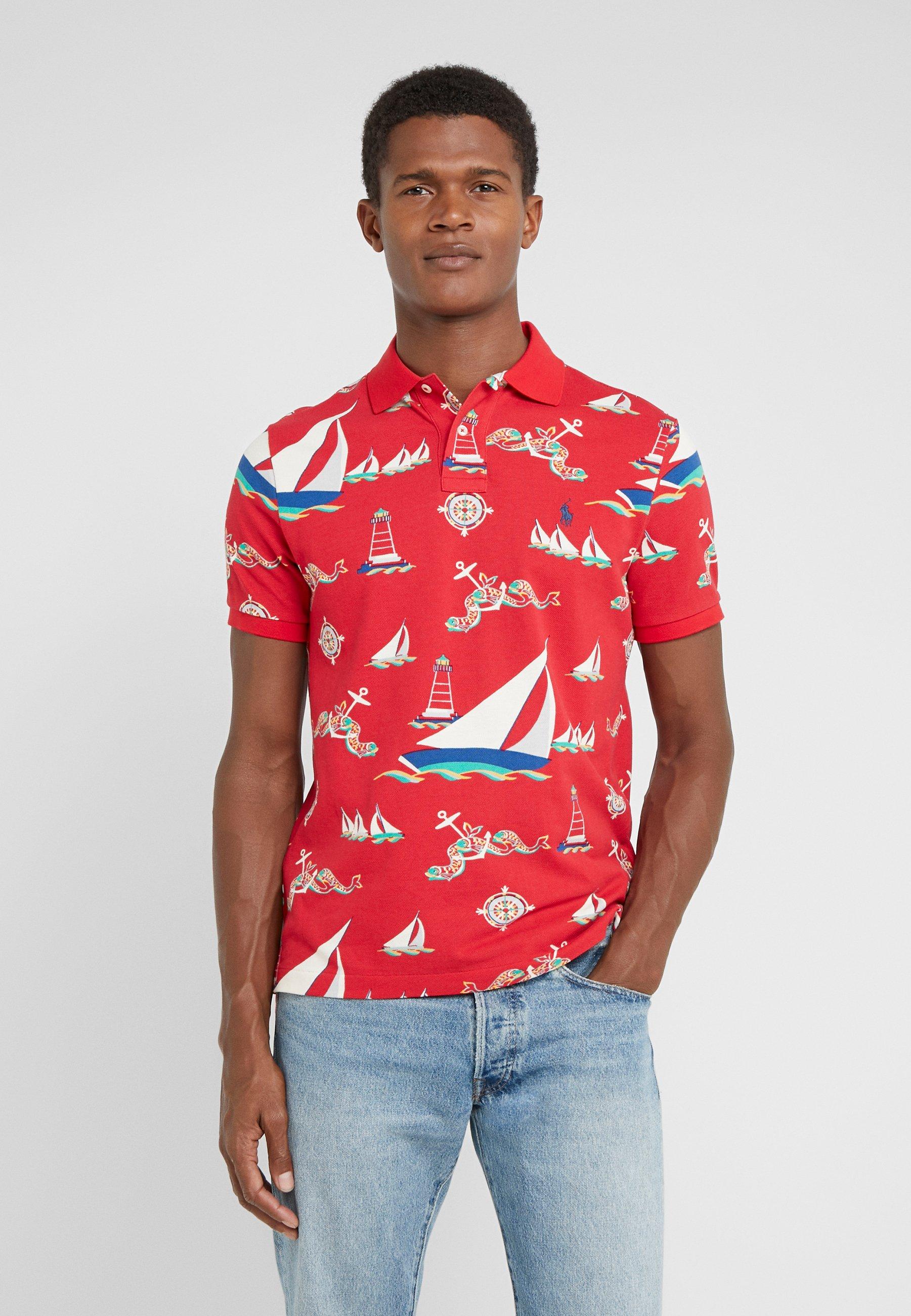 Niedrogi Gorąca wyprzedaż Polo Ralph Lauren Koszulka polo - red   Odzież męska 2020 rRq2J