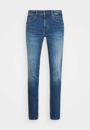 AUSTIN SLIM TAPERED - Jeans fuselé - blue denim