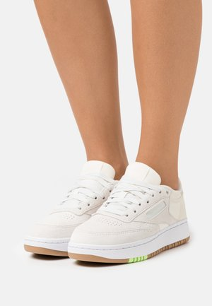 CLUB C DOUBLE - Zapatillas - chalk/classic white/morning fog