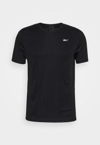 TECH TEE - T-shirt print - black