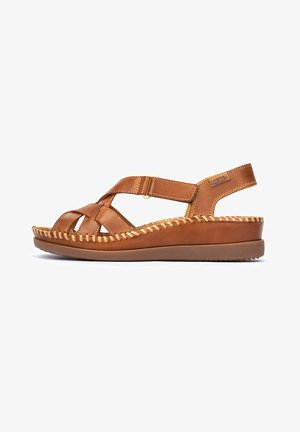 CADAQUES - Sandals - brandy