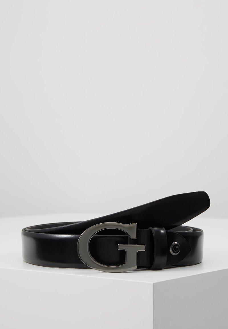Guess - NOT COORDINATED ADJUST BELT - Cinturón - matte black