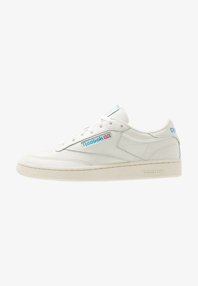 CLUB C 85 - Sneaker low - chalk/paperwhite/cyan