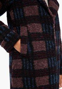 Q/S designed by - Short coat - dark ruby check - 4