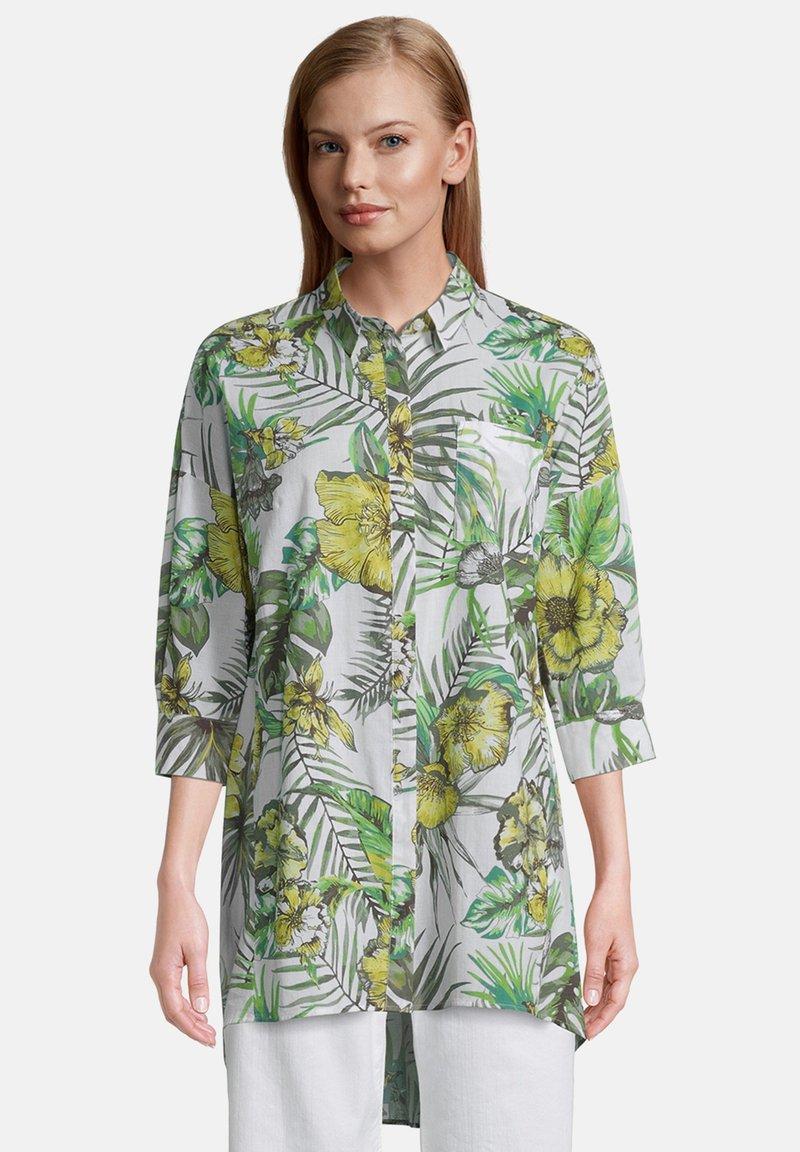 Betty Barclay - Button-down blouse - white/green