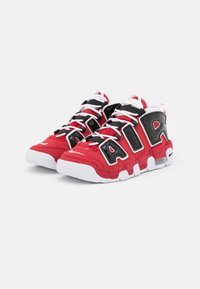Nike Sportswear - AIR MORE UPTEMPO UNISEX - Trainers - varsity red/white/black - 1