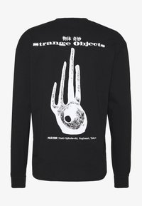 Edwin - STRANGE OBJECTS - Long sleeved top - black - 1
