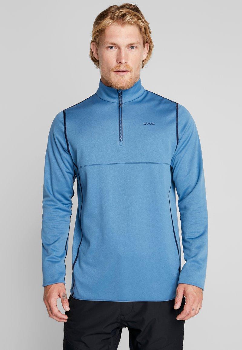 PYUA - SPIN - Fleece jumper - stellar blue