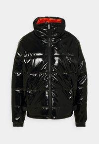 Karl Kani - OG GLOSSY PUFFER JACKET  - Winter jacket - black - 4