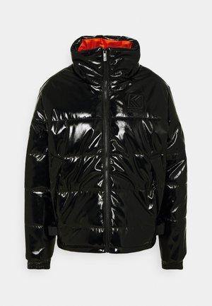 OG GLOSSY PUFFER JACKET  - Zimní bunda - black