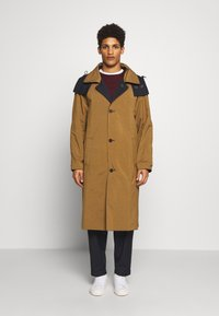 Gloverall - REVERSABLE OVERCOAT - Zimní kabát - navy - 6