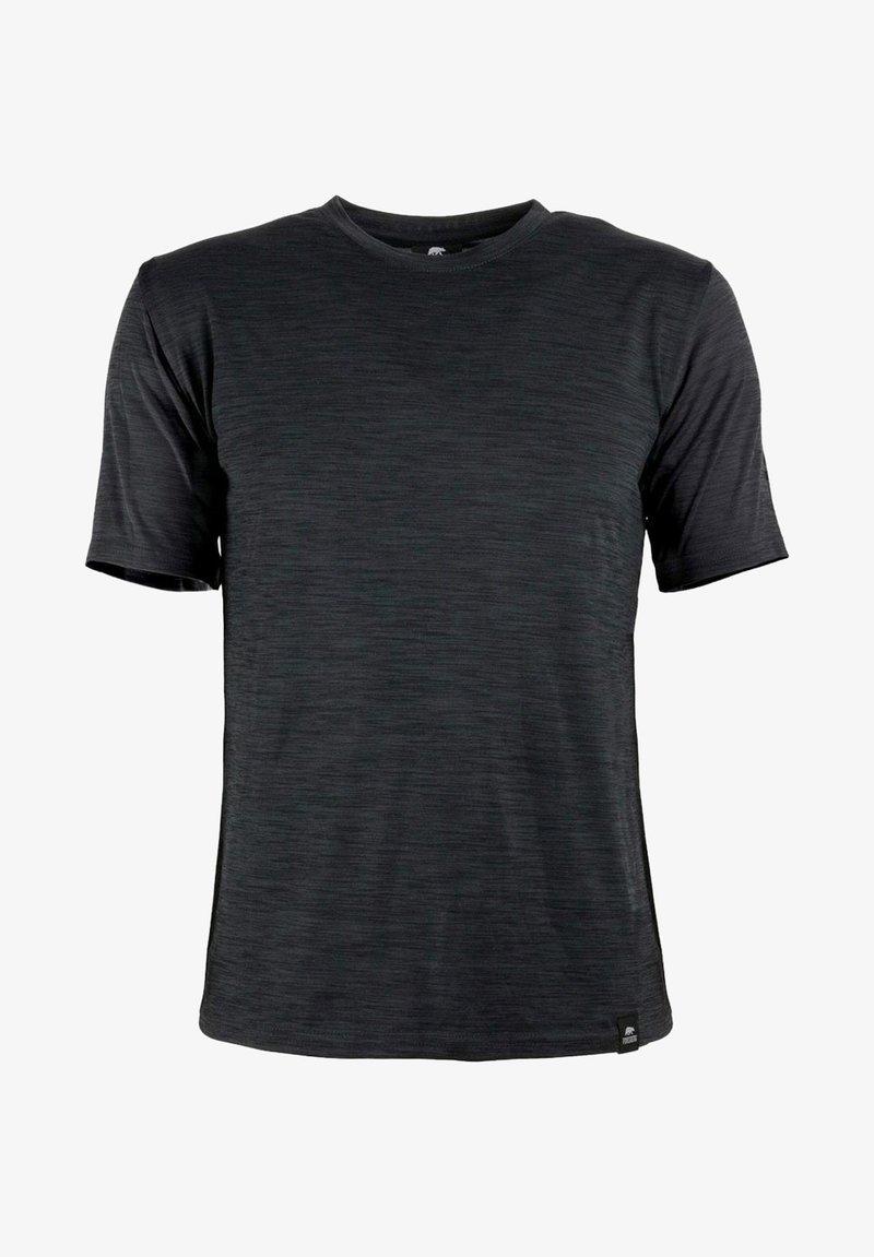 FORSBERG - SVETTSON FUNKTIONELLES ANTIBAKTERIELL - Basic T-shirt - anthra
