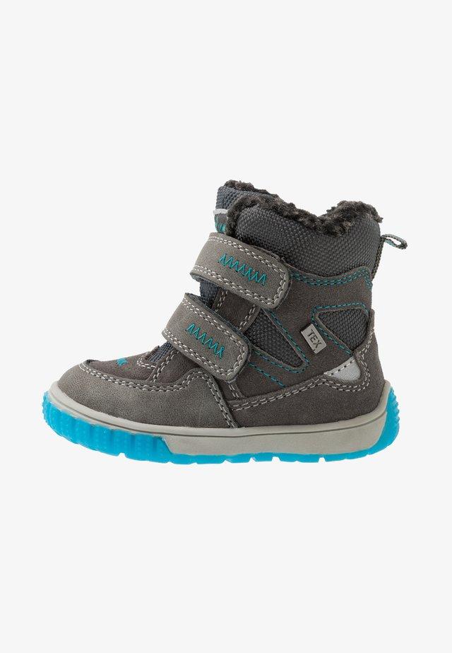 JAUFEN TEX - Snowboots  - grey blue