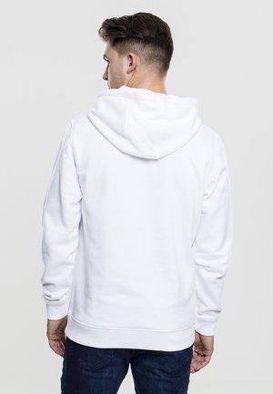 Felpa con cappuccio - white