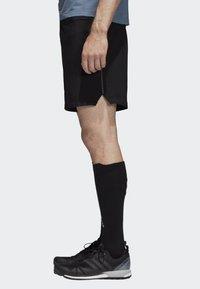 adidas Performance - TERREX TRAIL  - Pantalón corto de deporte - black - 3