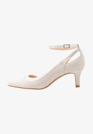 Klassiske pumps - light grey