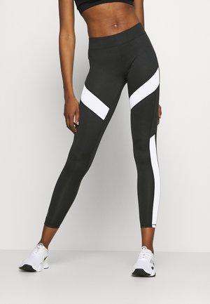 ONPADY LEGGINGS - Leggings - black/white