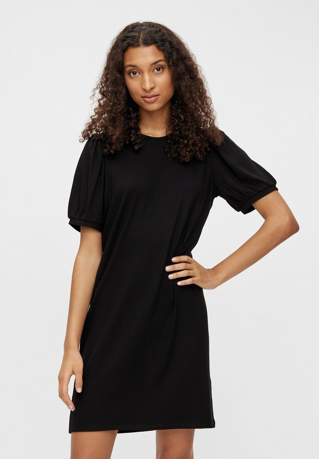OBJJAMIE DRESS - Korte jurk - black