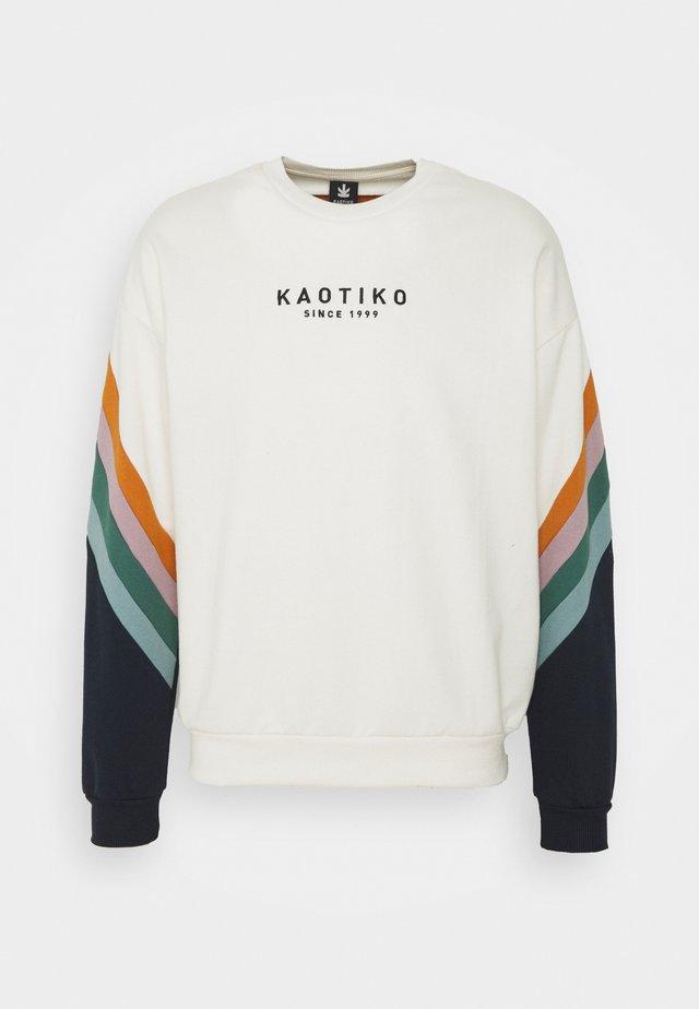 CREW WALKER - Sweatshirt - marfil