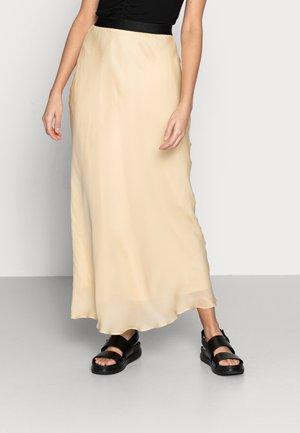 ANN SKIRT - Maxi sukně - vanilla
