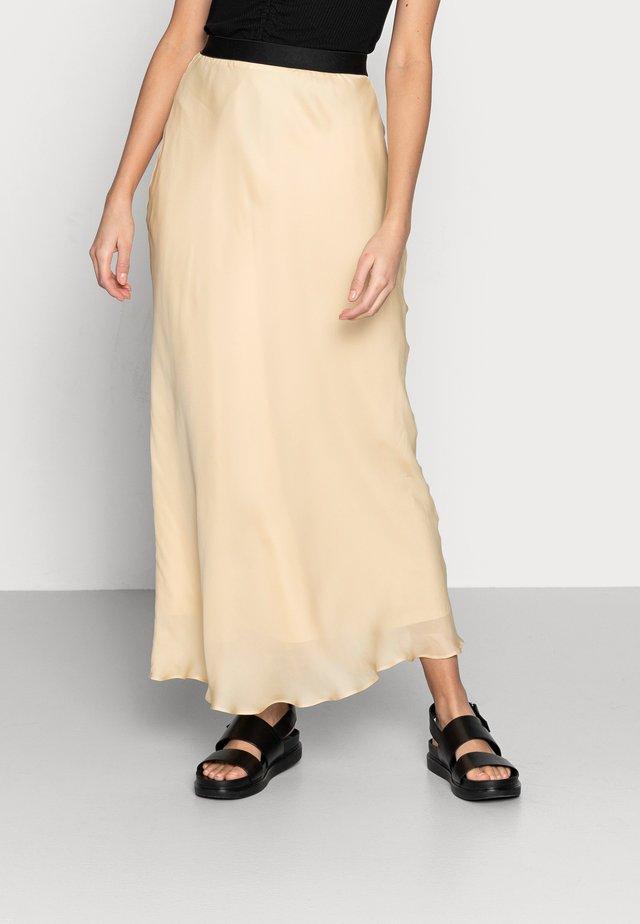 ANN SKIRT - Maxi skirt - vanilla