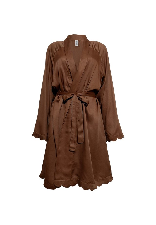 Dressing gown - brown