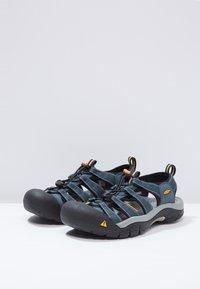 Keen - NEWPORT H2 - Walking sandals - navy/medium grey - 3