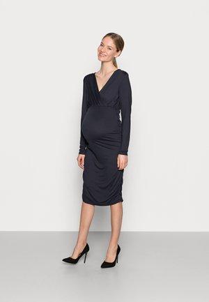 NURSING DRESS - Sukienka etui - navy blazer