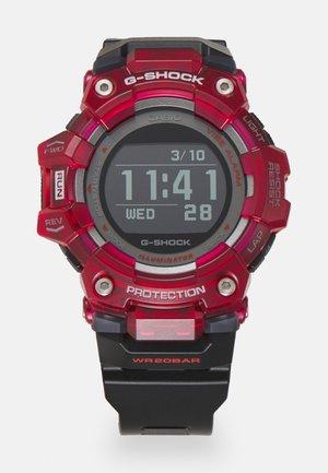 PHYSICAL LAB - Digitaal horloge - black/red