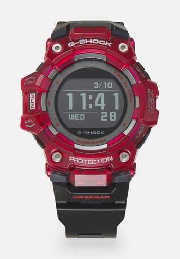 PHYSICAL LAB - Digitální hodinky - black/red