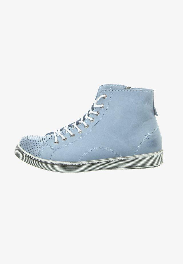 High-top trainers - bleu