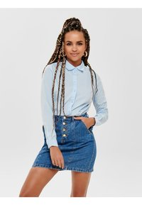 JDY - JDYMIO - Button-down blouse - light blue - 0