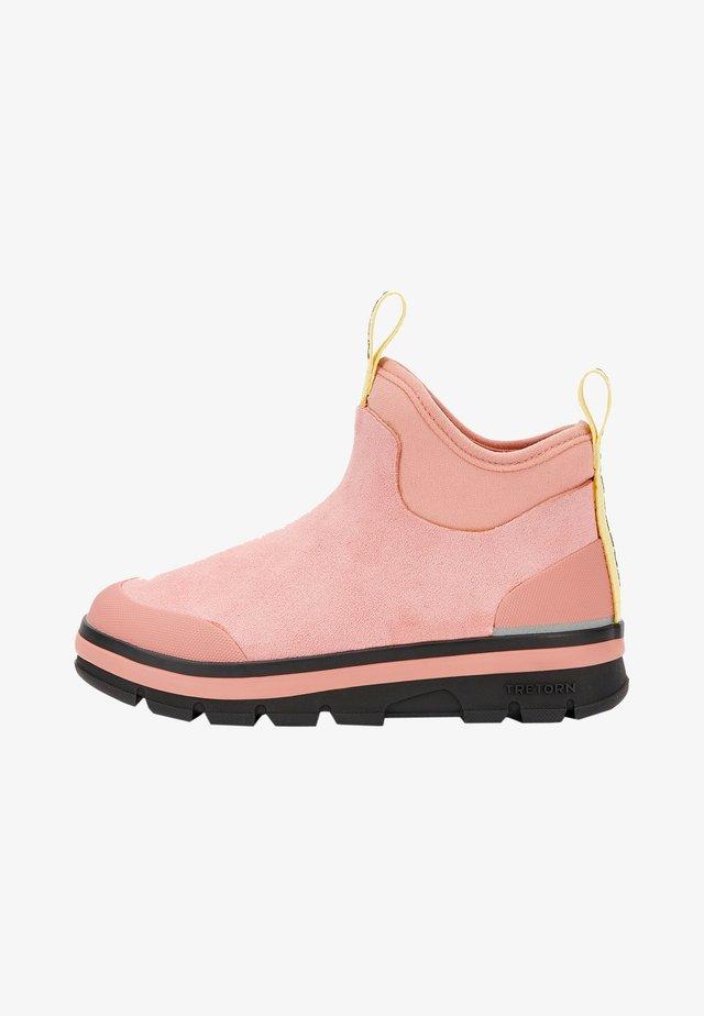 LUNAR HYBRID - Bottes en caoutchouc - light pink