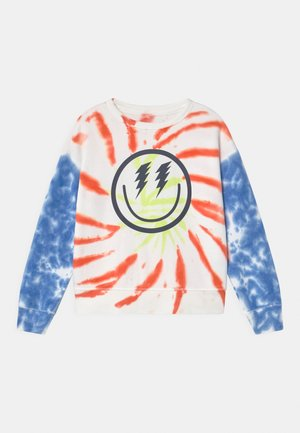 BOY TIE DYE CREW - Sweater - multi-coloured