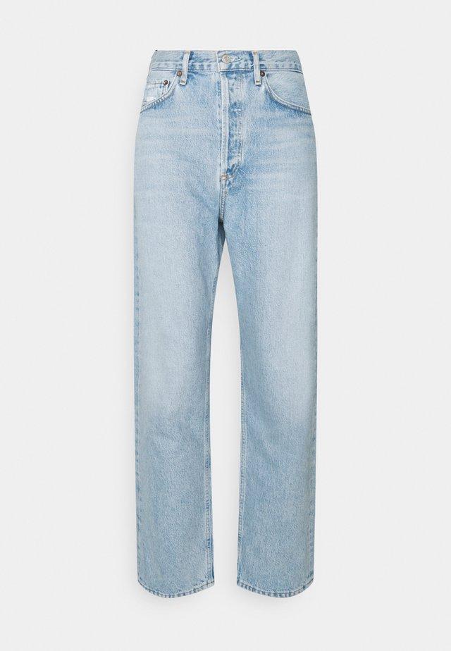 90'S - Straight leg jeans - light indigo