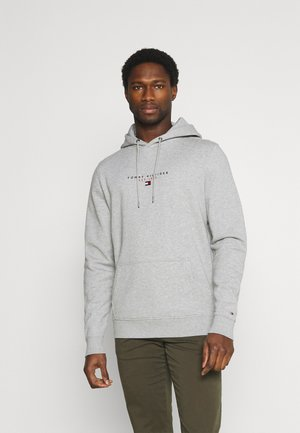 ESSENTIAL HOODY - Bluza z kapturem - medium grey heather