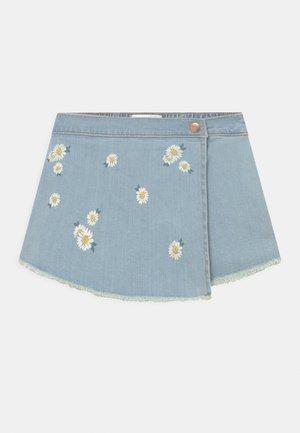 WRAP - Denim skirt - blue denim