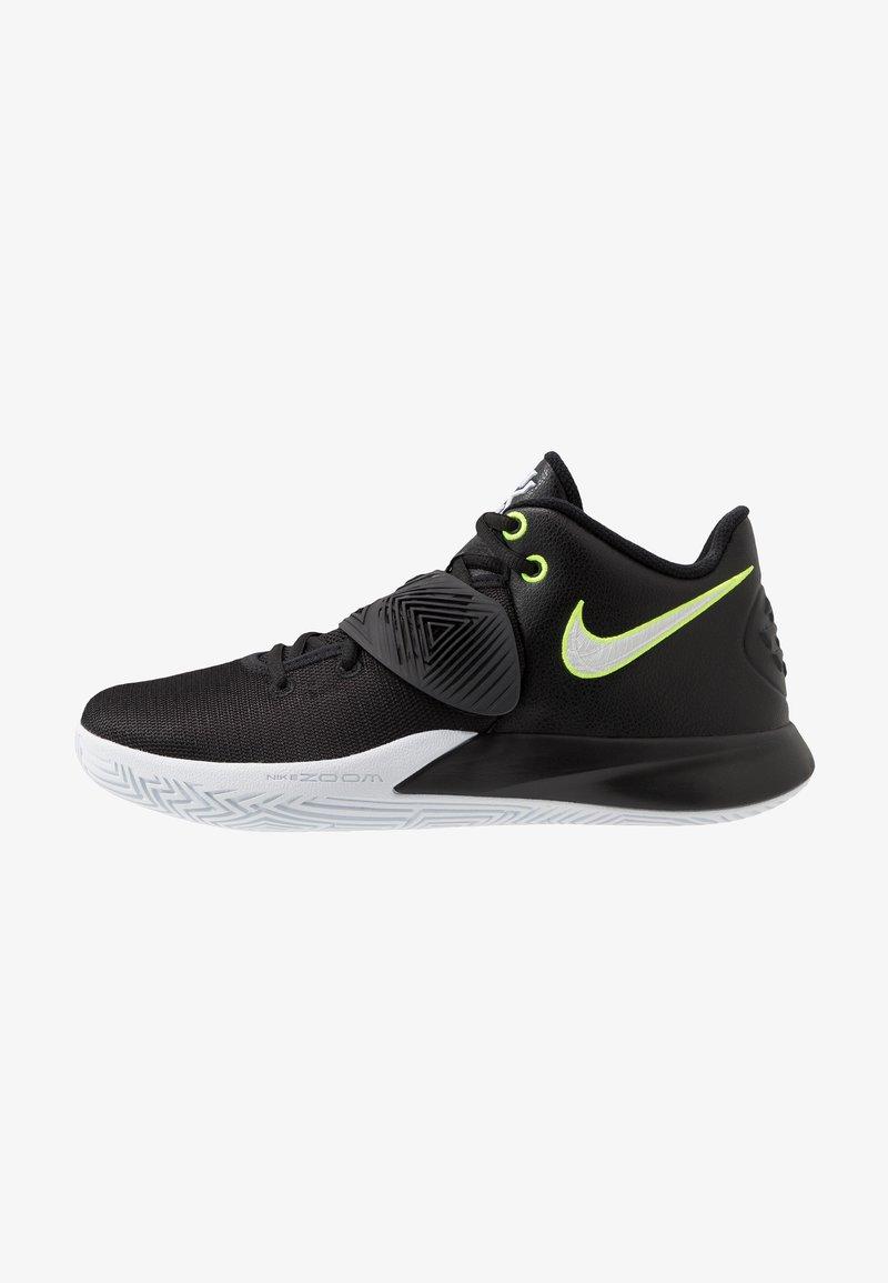 Nike Performance - KYRIE FLYTRAP III - Basketbalové boty - black/white/volt