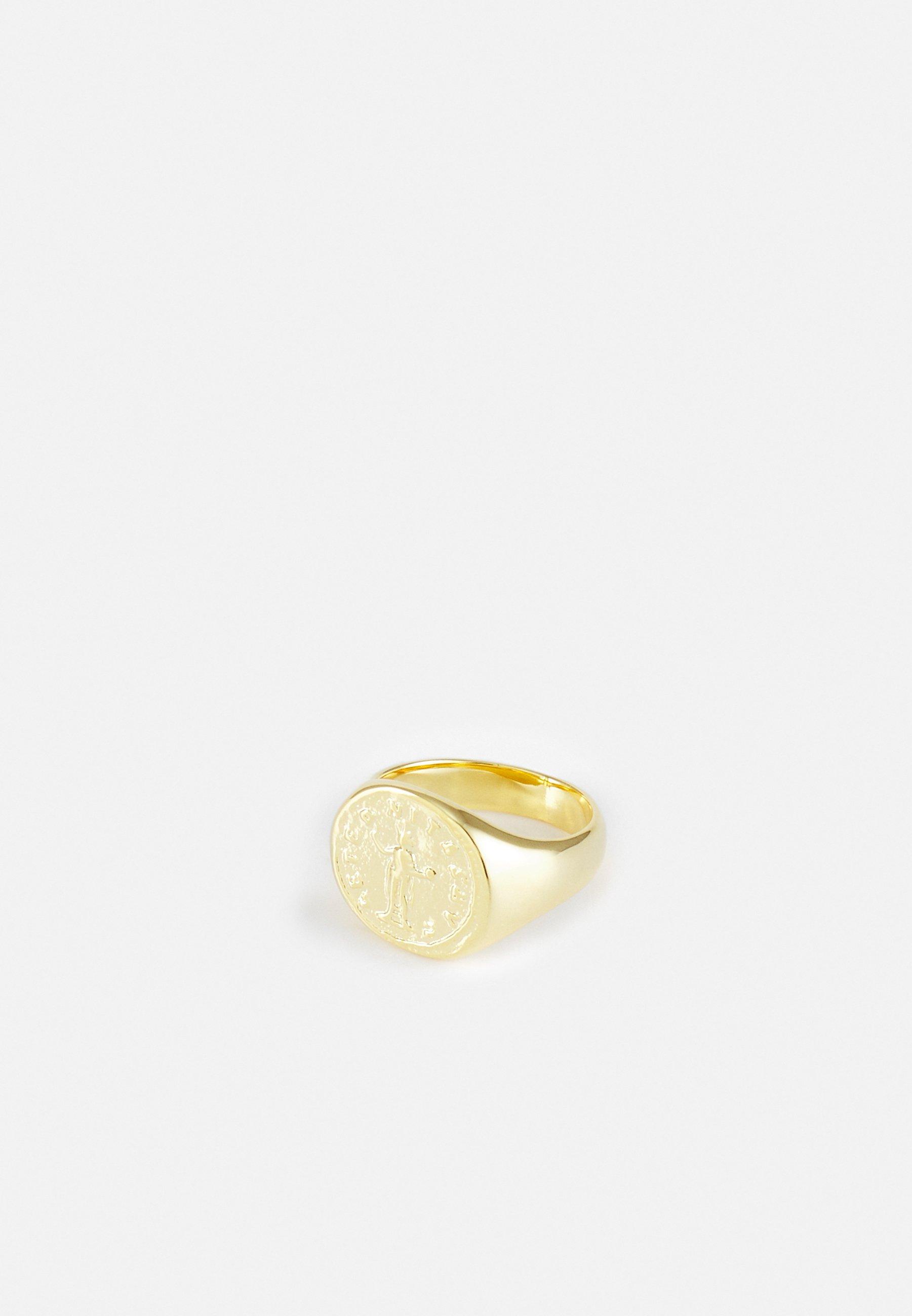Donna ROMAN COIN SIGNET RING - Anello