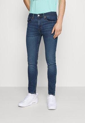 519™ EXT SKINNY HI BALLB - Jeans Skinny Fit - dolf silver