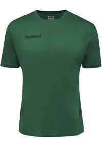 Hummel - DUO SET - Sports shorts - evergreen/black - 1