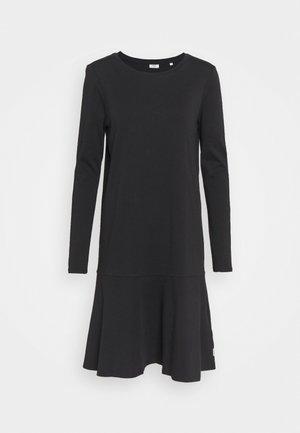 LONGSLEEVE DRESS - Jersey dress - black