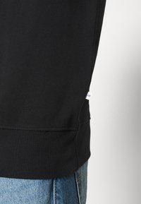 Selected Homme - SLHJASON CREW NECK - Felpa - black - 5