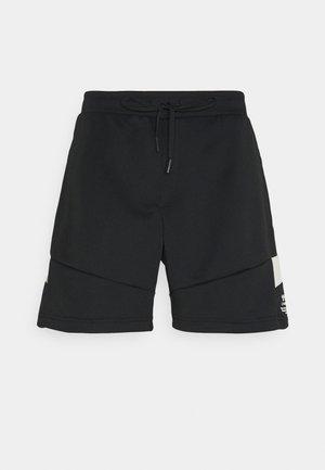 ALEC SHORTS - Träningsshorts - black