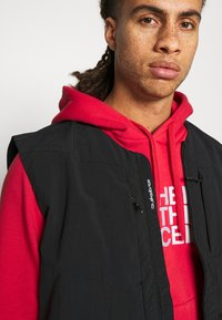 The North Face - DREW PEAK HOODIE - Felpa con cappuccio - rococco red - 3